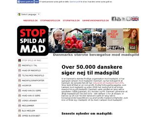 stopspildafmad.dk