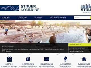 Earlier screenshot of struer.dk