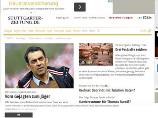 Preview of stuttgarter-zeitung.de