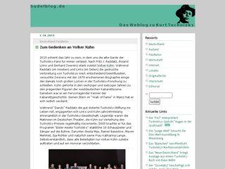 sudelblog.de