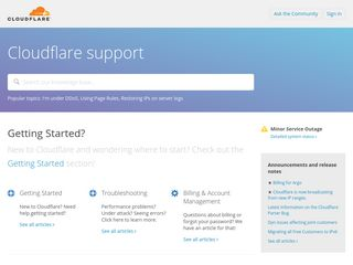 support.cloudflare.com