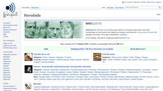 sv.wikiquote.org