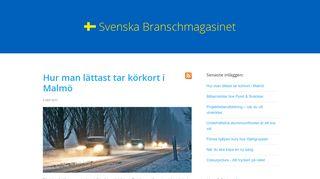 svenska-branschmagasinet.se