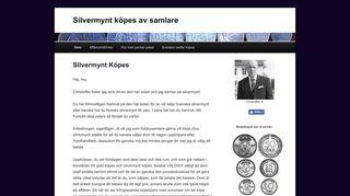 svenskasilvermynt.se