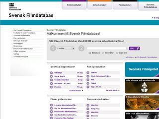 svenskfilmdatabas.se