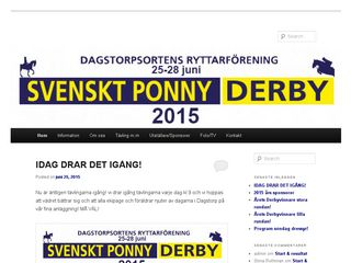 svensktponnyderby.se