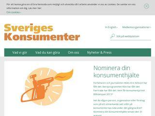 sverigeskonsumenter.se
