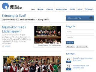 sverigeskorforbund.se