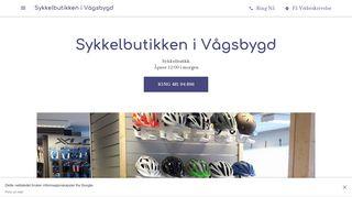 sykkelbutikken-i-vagsbygd.business.site