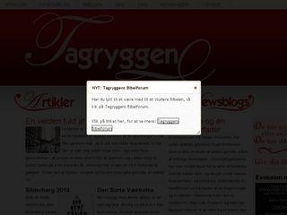 Earlier screenshot of tagryggen.dk