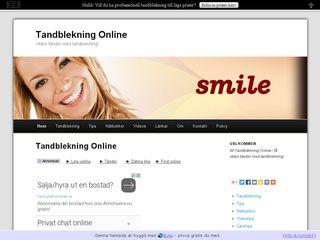 tandblekningonline.n.nu