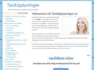 tandupplysningen.se