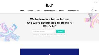 tbd.community