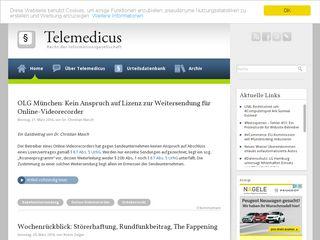 telemedicus.info
