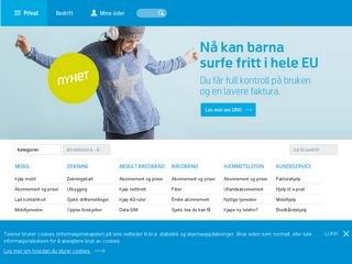 Preview of telenormobil.no