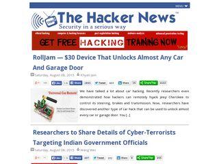 thehackernews com | Domainstats com