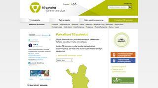 Varsinais-Suomen TE-toimisto - merityönvälitys