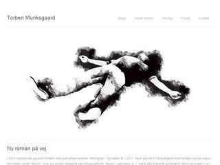 Earlier screenshot of torbenmunksgaard.dk