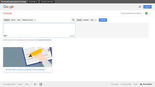 translate.google.dk