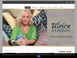 Earlier screenshot of ulrica.askmorling.se