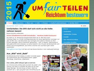 Preview of umfairteilen.de