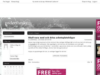 underthesky.bloggplatsen.se