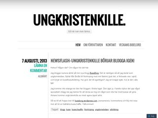 ungkristenkille.wordpress.com