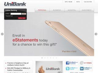 Preview of unibank.com