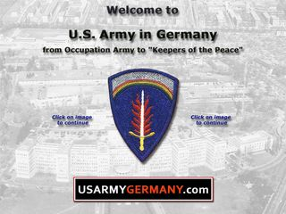 Preview of usarmygermany.com