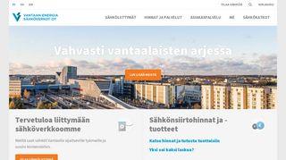 vantaanenergiasahkoverkot.fi