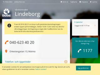 vardcentralenlindeborg.se
