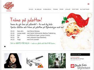 Earlier screenshot of vasteras.friskissvettis.se