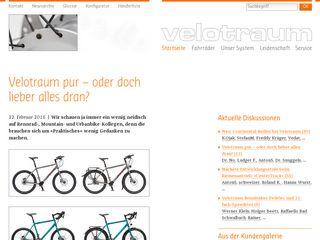 Preview of velotraum.de