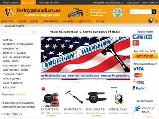 Earlier screenshot of verktygshandlarn.se