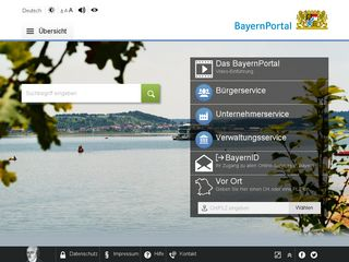 Preview of verwaltungsservice.bayern.de
