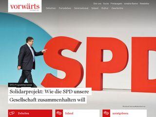 vorwaerts.de