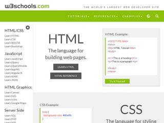 w3schools com   Domainstats com