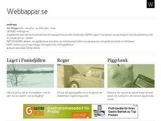 webbappar.se