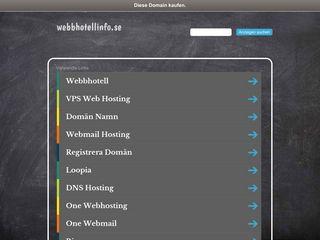 webbhotellinfo.se
