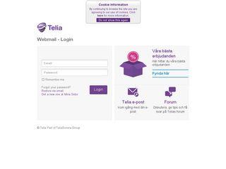 telia webmail login
