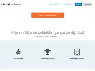 Preview of webnews.textalk.com