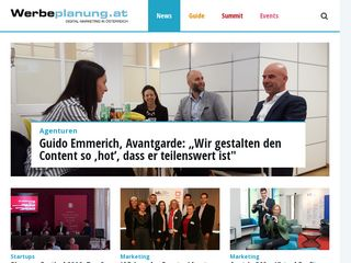 Preview of werbeplanung.at