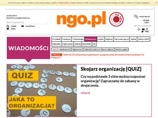 Preview of wiadomosci.ngo.pl