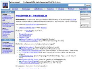 Preview of wikiservice.at