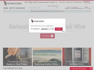Preview of wine.com
