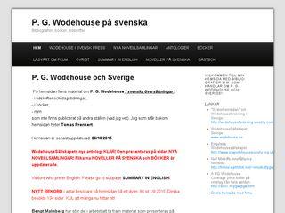 wodehousebibliografier.n.nu