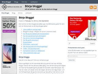 börja-blogga.se