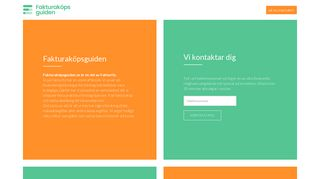 Earlier screenshot of fakturaköpsguiden.se