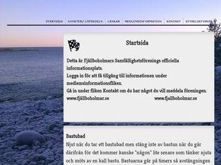 fjällboholmar.se
