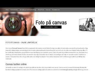 fotopåcanvas.se